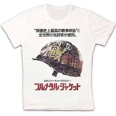 Full Metal Jacket Shirt (Full Metal Jacket Japan 1980s Kubrick Vietnam War Retro Unisex T Shirt 294)