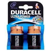 Duracell Ultra D Batteries