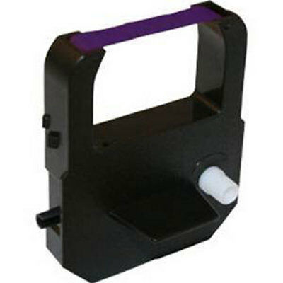Lathem 900e Time Clock Ribbon Vis6008 Compatible Purple Ink