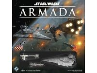 Star Wars Armada Core box. Plus 3 Expansions and extra Dice