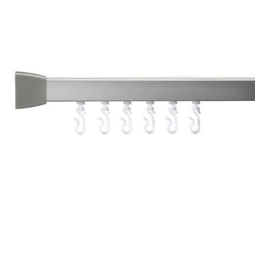 Curtains Ideas curtain rail supports : Shower Curtain Rail | eBay