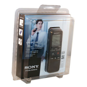 Sony Digital Flash Voice Recorder ICD-PX312 2 GB Flash Memory Pocket Handheld