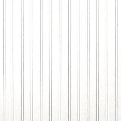 Bead Board Wallpaper (Brewster Embossed Textured Paintable White Bead Board Farmhouse Wallpaper )