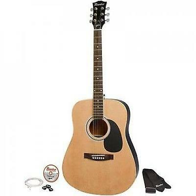 """Maestro by Gibson 41"""" Full Size Acoustic Guitar Kit Natural *With Bonus Stand"""
