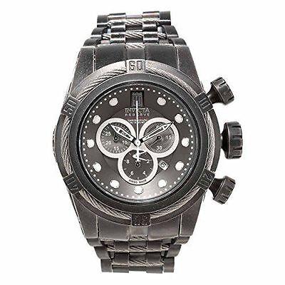 Invicta Men's 17832 Jason Taylor Quartz Chronograph Gunmetal Dial Watch.