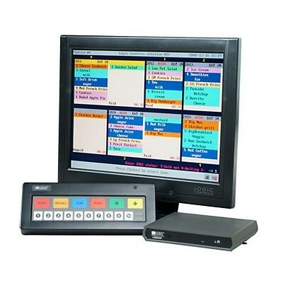 Logic Controls Pcamerica Pos System Restaurantkitchen Display Ls6000 Kds New