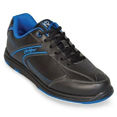 KR Strikeforce Flyer Black/Blue Mens Bowling (Blue Mens Bowling Shoes)