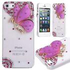 iPhone 5 Case Purple Butterfly