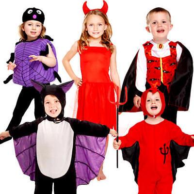 Halloween Toddler Fancy Dress Up Spooky Cute Kids Boys Girls Childrens Costume (Dress Up Cute Boys)