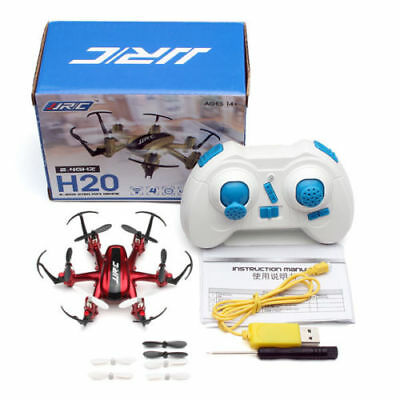 JJRC Drone H20 RC Hexacopter 2.4Ghz 4 canali 6-Axis 360° Red e Gold DISPONIBILE