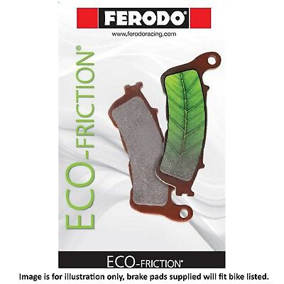 Victory Cross Country Tour 2013 Ferodo ECO Friction Rear Brake Pads