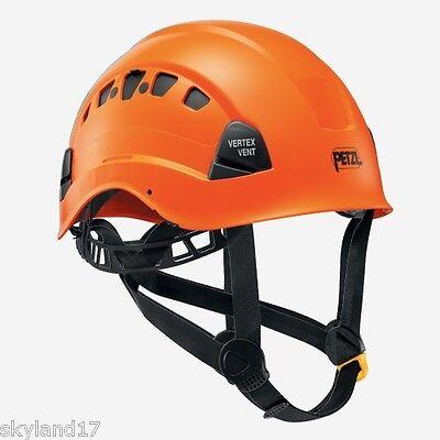 Petzl Vertex Vent Climbing Helmet - Arborist / Mountaineering - ORANGE