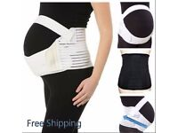 MATERNITY PREGNANCY BELT LUMBAR BACK SUPPORT WAIST BAND BELLY BUMP