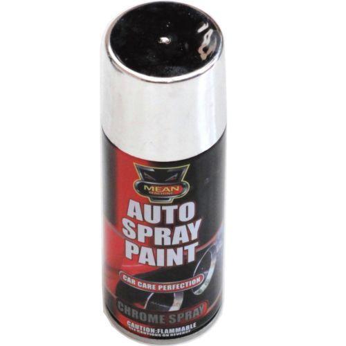 chrome aerosol spray paint ebay. Black Bedroom Furniture Sets. Home Design Ideas
