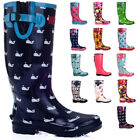 Rubber Knee-High Boots for Women
