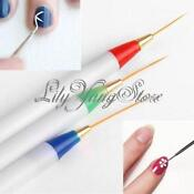 Acrylic Nail Art Brush Pen Drawing Painting Dot Tool