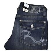 Mens Stone Washed Jeans