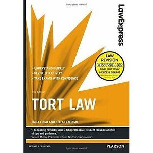 Good-Law-Express-Tort-Law-Paperback-Fafinski-Stefan-Finch-Emily-12920128