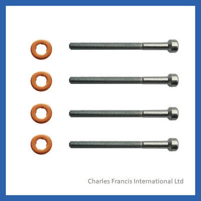 MERCEDES VITO BUS CDI INJECTOR BOLT AND WASHER SEAL KIT - PACK OF 4