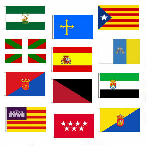 SPANISH FLAGS 5