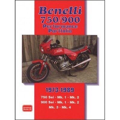 Benelli 750/900 Performance Portfolio 1973-1989 book paper motorcycle