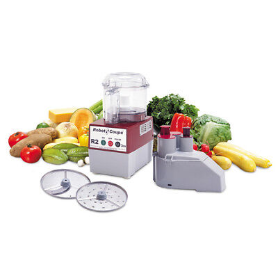 Robot Coupe R2n 3 Qt. Commercial Food Processor Clear