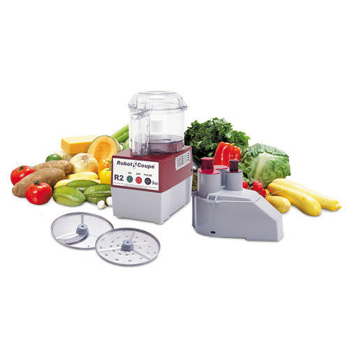 Robot Coupe R2N 3 Qt. Commercial Food Processor, Clear