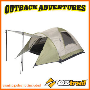 OZTRAIL TASMAN 3V DOME TENT FAMILY CAMPING COUPLE HIKING CAMP DTMTAS3V 3 PERSON