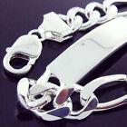 ID/Identification Sterling Silver Bracelets for Men
