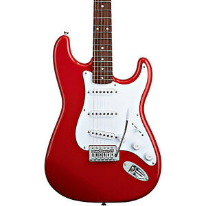 Cherry Red Electric Squire Strat