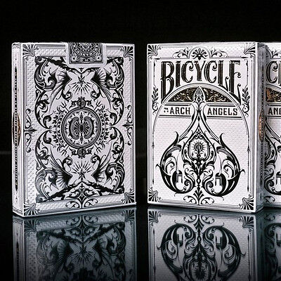 Poker Card Box - 1 Deck Bicycle Arch Angels Standard Poker Playing Cards Archangels New In Box