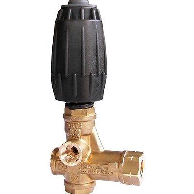 Vrt3 Adjustable Unloader For Pressure Washer Pump 4500 Psi Black Ez Start