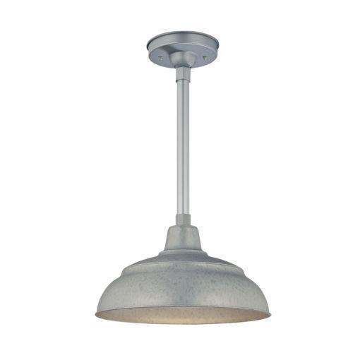 galvanized light ebay. Black Bedroom Furniture Sets. Home Design Ideas