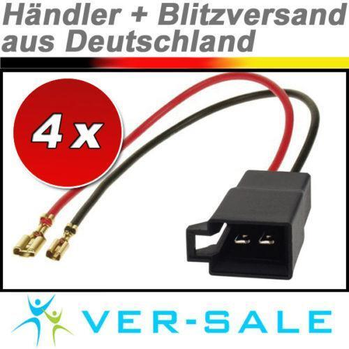 Auto Lautsprecher Adapter Ebay