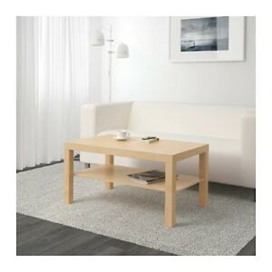 IKEA Coffee table birch effect - Brand new and never open