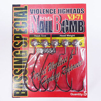 Decoy VJ-71 Nail Bomb 1/8oz Hook Size #1