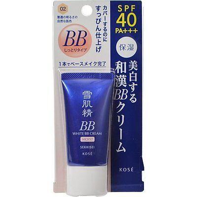 Kose SEKKISEI White BB Moist Cream 30g - Color 02