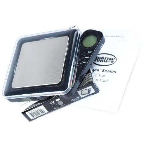 New Horizon 0.01g x 100g Digital Pocket Jewelry Scale .01g