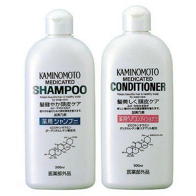Japan-Medicated Scalp Hair Growth B&P Shampoo & Conditioner 300mL
