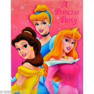 DISNEY PRINCESS Princess Ball INVITATIONS (16)~ Birthday Party Supplies Aurora