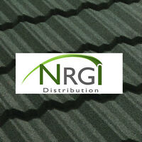 Panneaux tôle au zinc imitation tuiles argile pour toiture.