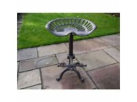 Cast Iron Vintage Style Tractor Seat / Bar Stool