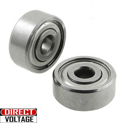 5 Pcs 623zz 10 Bearing Shielded 3x10x4 Miniature Ball Bearings