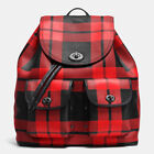 Coach Plaid Backpacks for Women