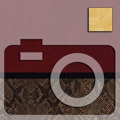 Kamera & Fernglas Belederung Kameraleder SORTIMENT, 11 Mustern, große Blätter!