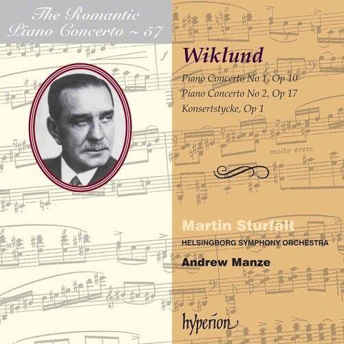 Martin Sturf lt - Piano Concertos 1 & 2 [New CD]