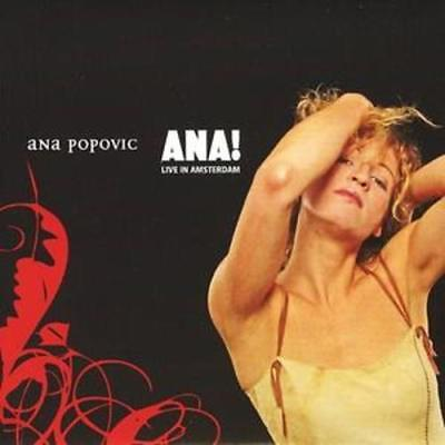 Ana Popovic : Ana! Cd (2005) ***New***