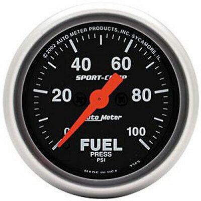 Auto Meter 3363 Sport-Comp Fuel Pressure Gauge