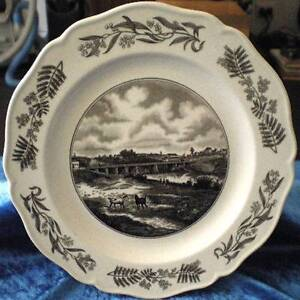 Wedgwood Historical Australia Display Plate North Parramatta Parramatta Area Preview