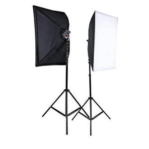 High Quality Photo/Video Continuous Lighting Softbox Kit 900W - Brand New! ON SALE!
